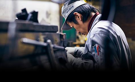 安心の国内一貫生産(製造・組み立て・製品テスト)