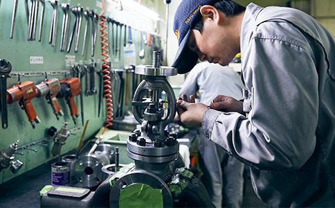 国内一貫生産にこだわった良質な品質管理を徹底
